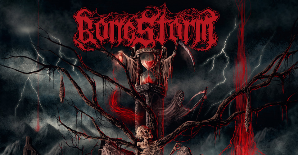 Recenze: BONESTORM – The Emptiness of Life And Death /2020/ Green Revolution