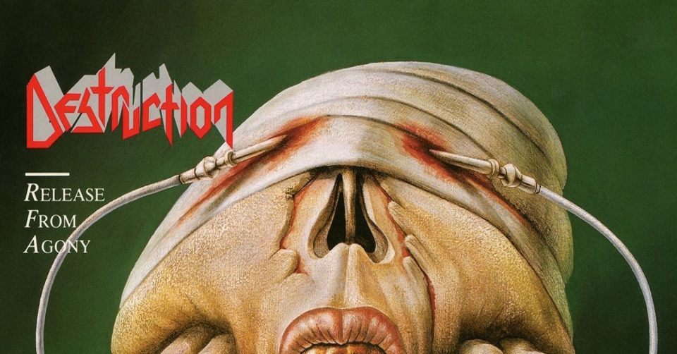 Recenze: DESTRUCTION – Release From Agony /1988/ Steamhammer