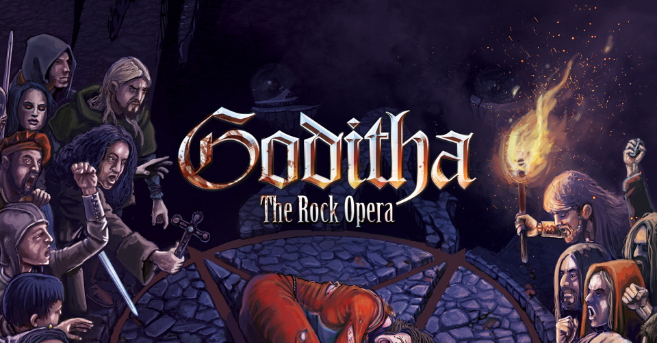 Recenze: GODITHA The Rock Opera /2020/ Symmetric Records