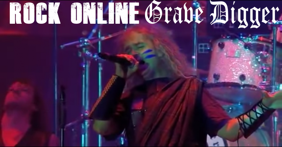 METAL-LINE: Rock Online - GRAVE DIGGER - The Clans Are Still Marching (Live at Wacken 2010)