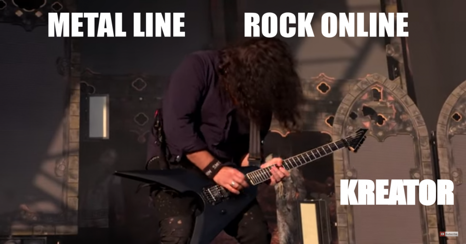 METAL-LINE: Rock Online - KREATOR - Full Set Performance - Bloodstock 2017