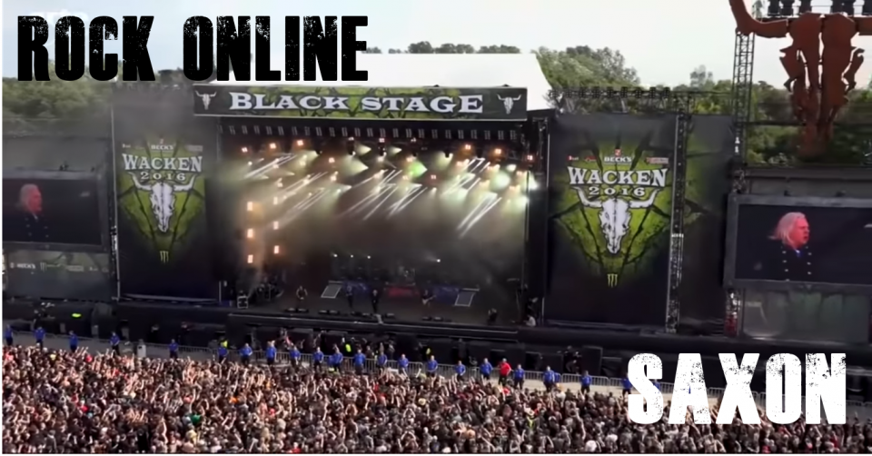 METAL-LINE:Rock Online - SAXON Live At Wacken 2019