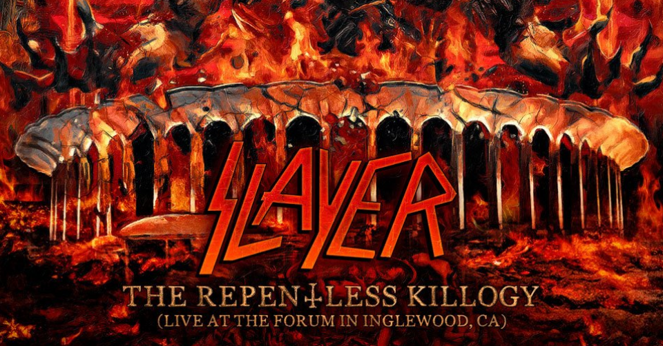 Recenze / 2CD Slayer: The Repentless Killogy (Live At The Forum In Inglewood, CA)  / Nuclear Blast GmbH 2019