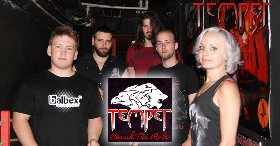 Recenze: Temper - Break The Rule (2018)