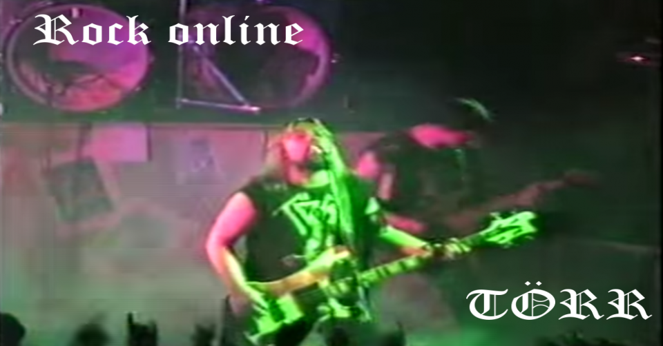 METAL-LINE: Rock online - TÖRR live Death Metal Session 1988