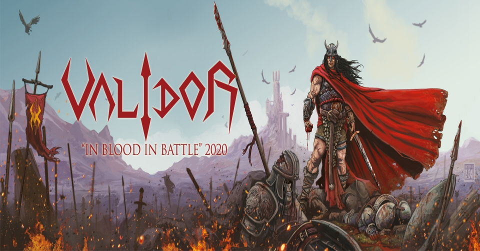 Recenze: VALIDOR - In Blood In Battle /2020/ Symmetric Records