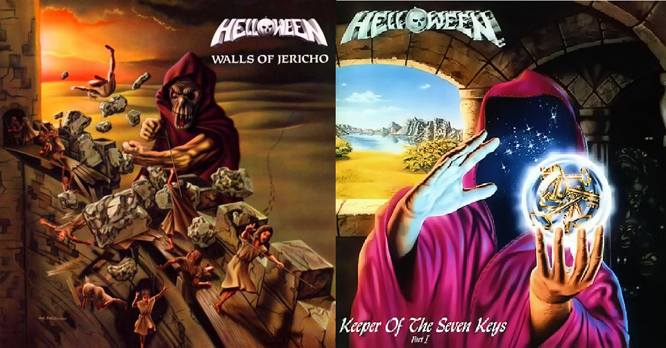 Doublerecenze: HELLOWEEN - Walls OF Jericho / Keeper Of The Seven Keys Pt.I /1986, 1987/ Noise
