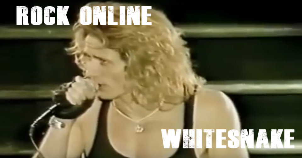 METAL-LINE:Rock Online - WHITESNAKE Live At Donington 1990